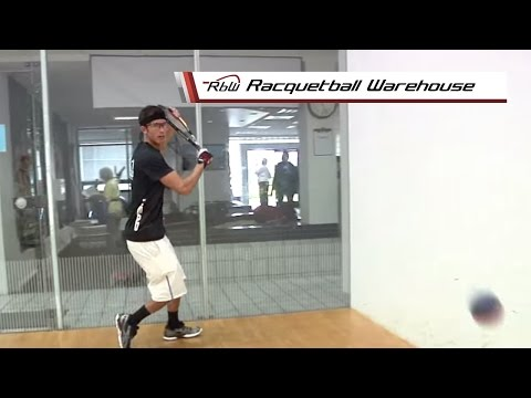 How to Hit a Racquetball Backhand