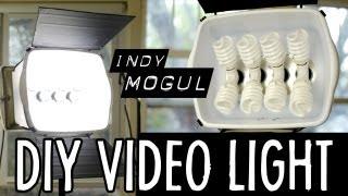 getlinkyoutube.com-How-to: Powerful DIY video light (800 watt equivalent)