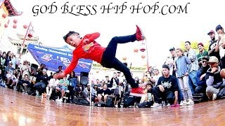 getlinkyoutube.com-KIDS DANCE BATTLE SHOCKS THE WORLD! Bboy Drew vs Bgirl Goldi Rox