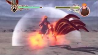 getlinkyoutube.com-Naruto Shippuden Ultimate Ninja Storm 2 Naruto vs Pain full game