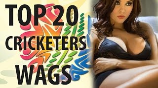 getlinkyoutube.com-Top 20 cricketers Wives and Girlfriends (Sania Mirza, Anushka, Sakshi dhoni,