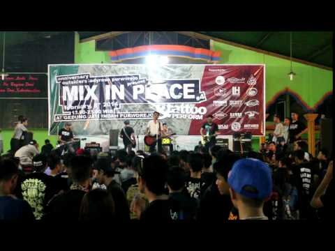 Broken Rose - Die For Something (live at Purworejo)