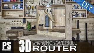 getlinkyoutube.com-3D Router, when a CNC machine is overkill.