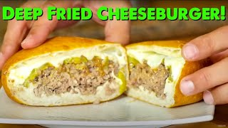 "Korzo's ""The Slav"" Burger Recipe (Deep Fried Hamburger)"