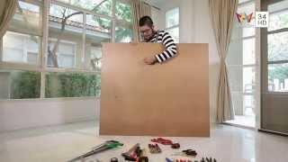 getlinkyoutube.com-ช่างประจำบ้าน EP.36 การทำแผงเก็บอุปกรณ์ช่าง AMARIN TV HD ช่อง 34