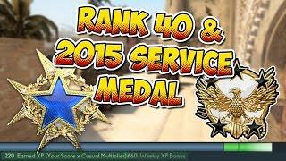 getlinkyoutube.com-CS:GO - Reaching Global General Rank 40 & The 2015 Service Medal