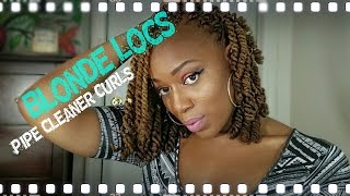 getlinkyoutube.com-How I Dye My Locs & Pipe Cleaner Curls!!