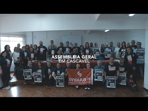 Assembleia Geral em Cascavel, 13 de julho