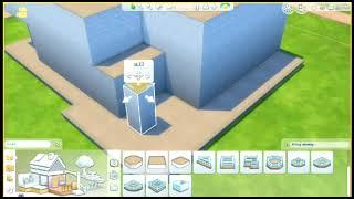 getlinkyoutube.com-Jak zbudować nowoczesny dom w The Sims 4? część 1