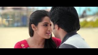 lip lock scene lollu sabha jeeva and sangeeta pat tamil movie Arambame Attagasam