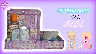 getlinkyoutube.com-Organizador para bebé por Fantasticazul