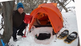 getlinkyoutube.com-Snow Camping Tips and Tricks