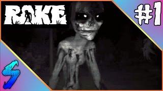 getlinkyoutube.com-RAKE Gameplay   HAUNTED IN THE WOODS!!   PART 1 (HD 60FPS)