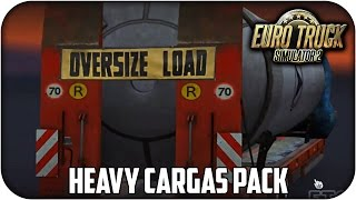 getlinkyoutube.com-Heavy Cargo Trailers Pack | Euro truck simulator 2 | 1.24 - 1.25