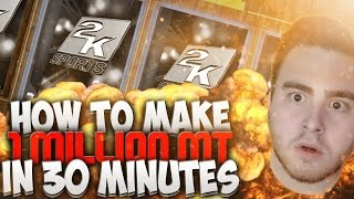 How To Make 1,000,000 MT in 30 Minutes NBA 2K16 MyTeam