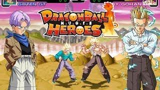 getlinkyoutube.com-Trunks & Goten GT vs Baby Gohan - Dragon Ball Super Fight M.U.G.E.N