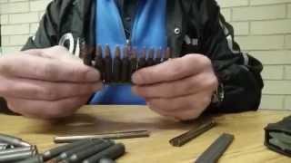 تعبئة مخزن بندقية  M-16