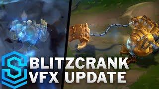 Blitzcrank Visual Effect Update Comparison -  All Affected Skins | League Of Legends