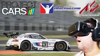 getlinkyoutube.com-Oculus Rift DK2 REVIEW 2 - Project CARS vs Assetto Corsa vs Iracing