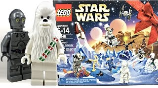 getlinkyoutube.com-LEGO Star Wars Advent Calendar 2016 review and unboxing! 75146!