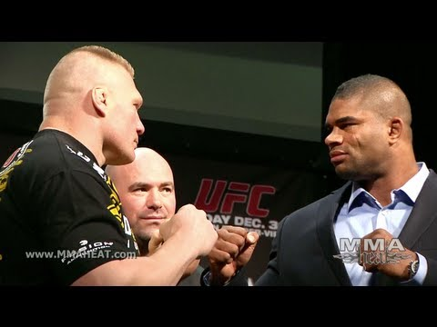 Brock Lesnar + Alistair Overeem Hype Their Fight at UFC 141 Press Conference (complete + unedited)