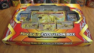 getlinkyoutube.com-Pokemon Arcanine BREAK Evolution Box Opening