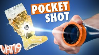 getlinkyoutube.com-Pocket-Sized Slingshot is Crazy Powerful