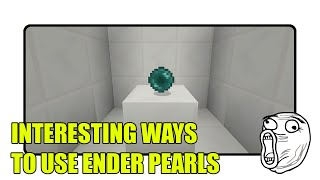 getlinkyoutube.com-Interesting Ways to Use Ender Pearls in Minecraft