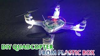 getlinkyoutube.com-How to make Quadcopter from Plastic Box