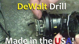 getlinkyoutube.com-BOLTR: Made in USA, DeWalt 20V MAX Hammer Drill. Mechanical Part A.