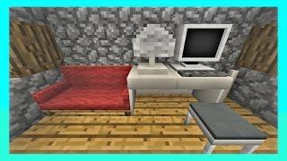 มอดเฟอร์นิเจอร์ สุดเหมือน! Furniture Mod | Minecraft PE (Pocket Edition) 0.13.1