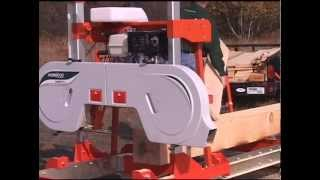 The High Capacity Lumbermate Pro Mx34 Portable Sawmill By Norwood
