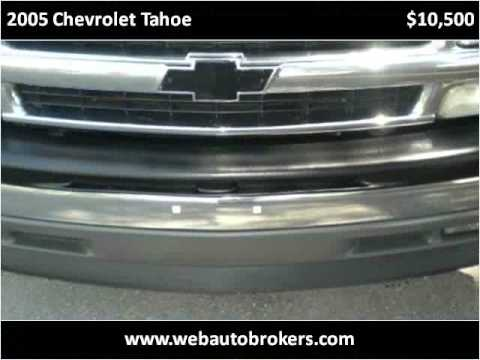 2005 Chevrolet Tahoe Used Cars Fort Myers FL
