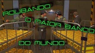 getlinkyoutube.com-GTA V - ROUBANDO O MAIOR BANCO DO MUNDO