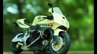 getlinkyoutube.com-紙でバイクを作ってみる Motorcycle paperwork.