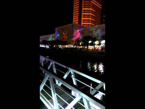 Sharjah Light Festival 2014 at Al Qasba