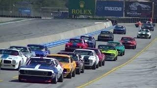 getlinkyoutube.com-Trans Am Muscle Cars @ Laguna Seca // Monterey Motorsports Reunion 2015