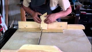 getlinkyoutube.com-Jak wykonać połączenie stolarskie na wczepy