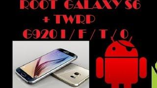 getlinkyoutube.com-ROOT  + TWRP  - GALAXY S6 / EDGE -  G920 I/F/T/0