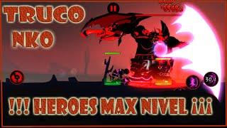 getlinkyoutube.com-TRUCO HEROES AL MAXIMO NIVEL, LEAGUE OF STICKMAN