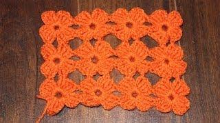 getlinkyoutube.com-How to Crochet the Daisy Stitch Better Version Tutorial