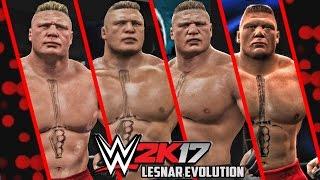 getlinkyoutube.com-WWE 2K17 - Brock Lesnar Entrance Evolution! ( WWE 12 To WWE 2K17 )