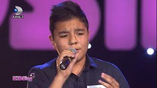 getlinkyoutube.com-Raul Eregep canta I will always love you – Auditii Saptamana 1 – KIDSing 2014
