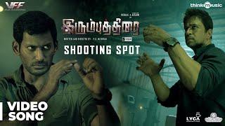Irumbuthirai - Shooting Spot   Vishal, Arjun, Samantha   Yuvan Shankar Raja   P.S. Mithran