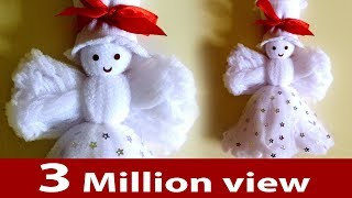getlinkyoutube.com-Doll - How To Make Doll Easy / How To Make Doll From Socks