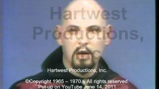 getlinkyoutube.com-Anton S Lavey, The Church of Satan, another clip: 1967 JOE PYNE TV Show