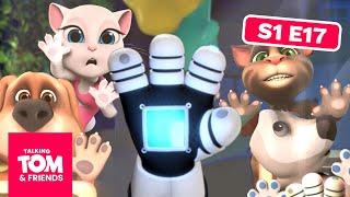 getlinkyoutube.com-Talking Tom and Friends - Glove Phone (Episode 17)