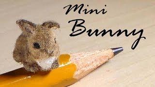 getlinkyoutube.com-Miniature Baby Bunny - Polymer Clay Tutorial