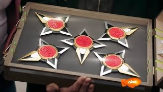 "Power Rangers Ninja Steel Episode 5 ""Drive to Survive"" - Mega Morph Cycle Power Stars"