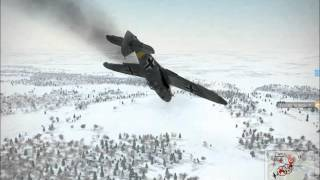 getlinkyoutube.com-IL 2 Sturmovik Battle of Stalingrad Epic Crashes and Fails Compilation Part 5